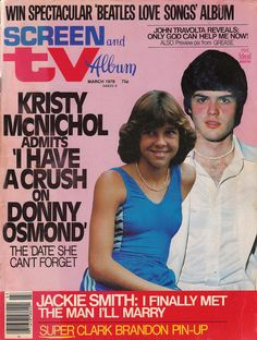 Screen and TV Album, March 1978 — Kristy McNichol & Donny Osmond