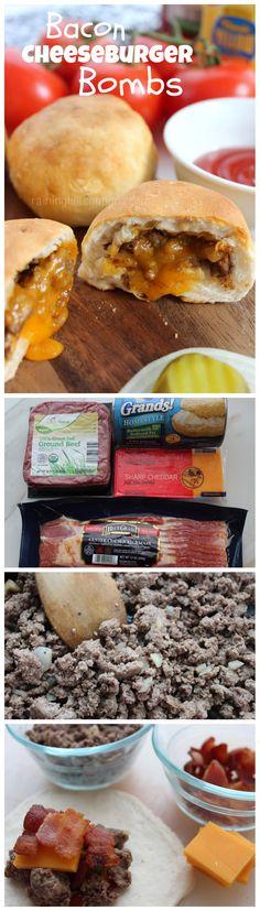 Bacon Cheeseburger Bombs