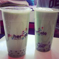 #pijherbate #mint #milk #bubbletea #warsaw w/ @fruitsandclops