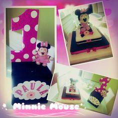 Centros de mesa para cumpleaños de Minnie Mouse