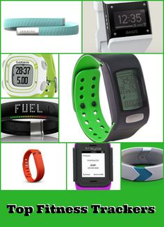Fitness Trackers. Keeping track of your hard work.