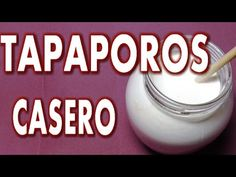 TAPA POROS CASERO COMO HACER - IMPREGNATING COMPOUND HOME