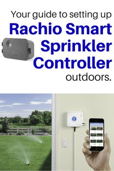 Smart sprinklers let you turn off your sprinklers from your smart phone or automate them based on weather. But if you're considering one for an outdoor controller, read our guide first. Sprinkler Controller, Foil Shaver, Smart Home Technology, Applied Science, Home Gadgets, Make It Work, Wet And Dry, Smart Technologies, Cool Diy