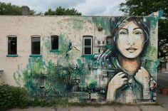 Alice Pasquini - Along the Way, Rochester, New York