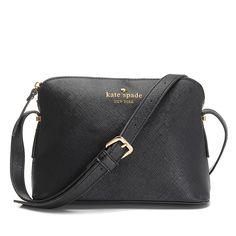 6550f24e3 Kate Spade Irini Cove Street Leather Crossbody Bag Black Cheap Kate Spade  Bags