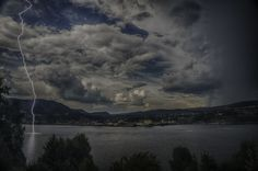 Opplev Notodden - Lynnedslag i Heddalsvatnet Clouds, Outdoor, Nature, Outdoors, Outdoor Games, Cloud