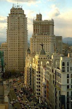 Madrid, edificio España