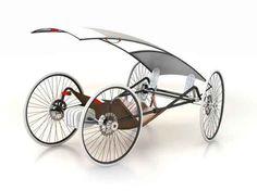 Solar powered 4W bike