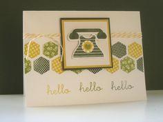 Deb's Card Buffet: Papertrey June Blog Hop Challenge