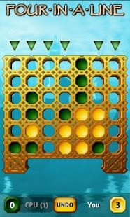 Four In A Line Free (also known as Connect 4 and Four in a Row) is the classic travel game, where you have to find those elusive 4 pieces in a row, either vertically, horizontally or diagonally, before your opponent does.