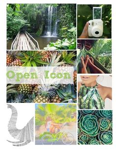 """Open Icon"" by syds-fashion-4-ever ❤ liked on Polyvore featuring art"