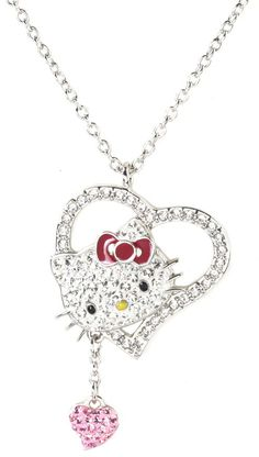 SWAROVSKI hello kitty collaboration necklace