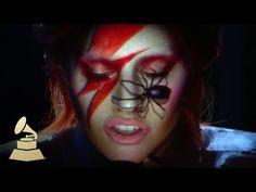 Lady Gaga homenageia David Bowie com apresentação no Grammy