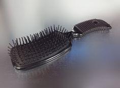 Black Paddle Brush Paddle Brush, Hairspray, Beauty Shop, Cut And Color, Hair Extensions, Eyelashes, Hair Care, Hair Beauty, Make Up