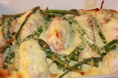 Fløtegratinert fisk med ost og Crème fraîche Creme Fraiche, Potato Salad, Food And Drink, Fish, Chicken, Vegetables, Eat, Ethnic Recipes, Vegetable Recipes