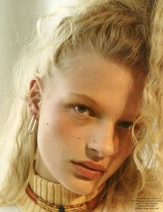 Adrienne Juliger & Frederikke Sofie Falbe-Hansen by Robi Rodriguez for Re-Edition No.2