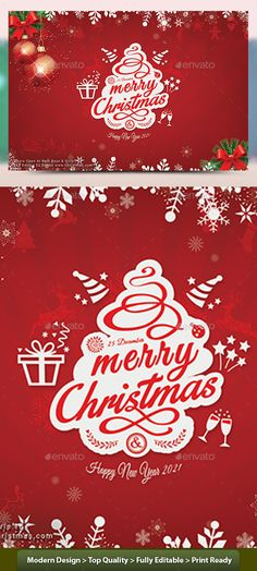 Christmas Flyer  Christmas Flyer Flyer Template And Font Logo