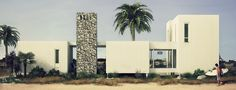 Casa surfer - Beach House - Tek House  Energeticamente sustentable  Arquitectura modular