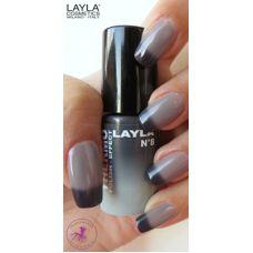 Gave themo nagellak #Black to Grey #Djasa