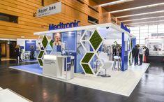 Conception stands d'exposition  Medtronic présent sur le salon du SFCTCV à Nantes du 15 au 18 juin (002)