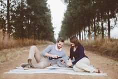 Cozy Autumn Engagement shoot with Red Wine || Michael & Marzanne @ Rosemary Hill, South Africa | www.kikitography.com