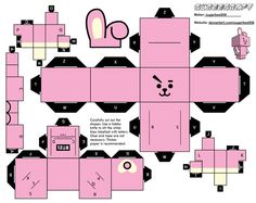 Cooky (BT21) Cubeecraft by sugarbee908 on DeviantArt