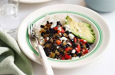 Rice and black bean burrito bowl | Tesco Real Food