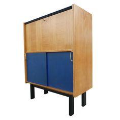 Drop Front  Secretary  Desk by Michel Mortier for Minvielle  #Drop Front Secretary #Secretary #Desk #Michel Mortier #Minvielle  #French furniture #mid century furniture