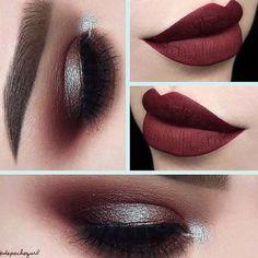 Variations Of Burgundy Lipstick Matte for All Skin Tones ★ See more: http://glaminati.com/burgundy-lipstick-matte-variations/