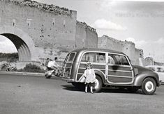 Peugeot, Fiat 500c, Old Photographs, Station Wagon, Maserati, Cars And Motorcycles, Diorama, Vintage Cars, Rome
