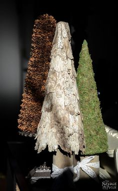 Birch+Bark+and+Pine+Cone+Trees