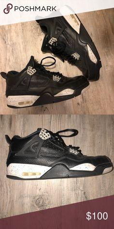 63e81963dff Jordan retro 4s Oreo Jordan Retro 4s size 10.5 condition 9/10 Air Jordan  Shoes