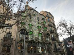 Casa Batllo',Barcellona
