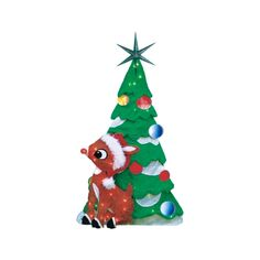 Product Works Pre-lit 2D Rudolph (70511_L2D) - Outdoor and Window Décor - Ace Hardware
