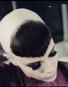 Oval Face Hairstyles, Braided Hairstyles, Cool Hairstyles, Shaved Hairstyles, Shaved Hair Women, Half Shaved Hair, Chelsea Cut, Chelsea Girls, Female Mohawk
