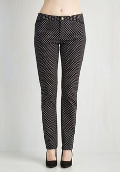 Motif-ational Speaker Pants. Spread your abundance of optimism clad in these patterned pants!  #modcloth