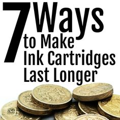 With just a few tips from Internet-ink, you can make your ink cartridges last longer saving you both time and money.