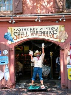 Conchs galore, Key West.