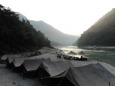 Leopard Beach Camps Rishikesh - Beach Camp #rishikesh #riverraftinginrishikesh  http://www.river-rafting-rishikesh.in/leopard-beach-camps-rishikesh/