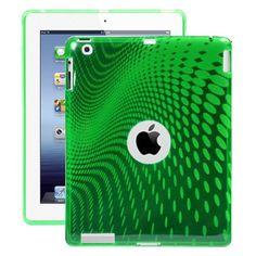 Electron Wave (Grønn) iPad 3 Deksel