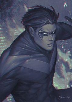 Nightwing by Akkapoj Thawornsathitwong