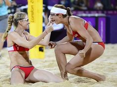May & Walsh's three-peat Gold - Beach Volleyball News | NBC Olympics