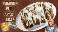 Fall Dessert Recipes, Fall Desserts, Recipe Using Pumpkin, Pumpkin Recipes, Pull Apart, Canned Pumpkin, Biscuits, Healthy Banana Muffins, Cookie Pie