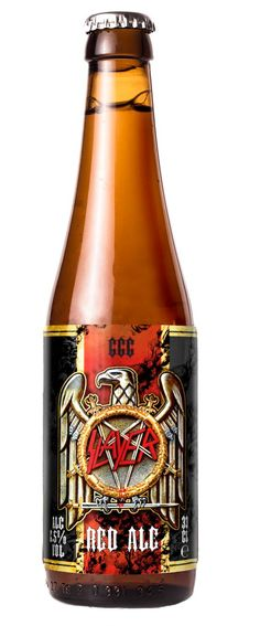 Slayer 666 Red Ale — Slayer - Repentless | The Official Slayer Site