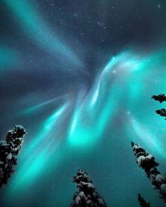 Aurora Borealis dancing in the sky. - What is the Aurora Borealis? Beautiful Sky, Beautiful Places, Belle Image Nature, Northen Lights, Ciel Nocturne, See The Northern Lights, Northern Lights Video, Northern Lights Wallpaper, Natural Phenomena