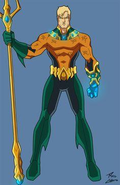 Aquaman by phil-cho