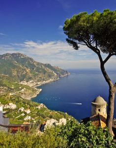 Sail up and down the Amalfi Coast in style. #Italy