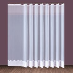 Cornella Biała (SM) - Świat Firan Teak, Curtains, Shower, Dom, Home Decor, Rain Shower Heads, Blinds, Decoration Home, Room Decor