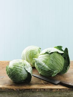 Whether it's shredded for a slaw or sauteed to a golden crisp for a side, cabbage is one of the most versatile vegetables to include in your next meal. Winter Vegetables, Fruits And Vegetables, Veggies, Growing Vegetables, Iceberg Wedge Salad, Martha Stewart Cooking School, Veggie Noodles, In Season Produce, Fall Plants