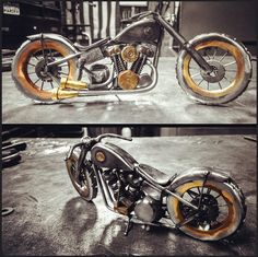 Brown Dog Welding Crafts An Amazing Knucklehead - Rusty Knuckles -